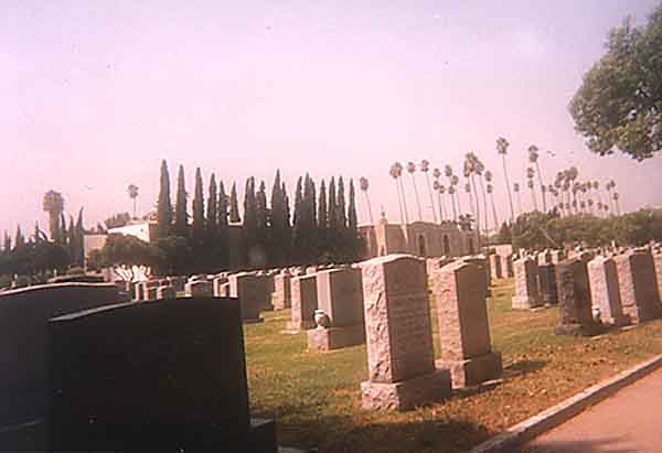 Photograph of Home of Peace Cemetery - Los Angeles County