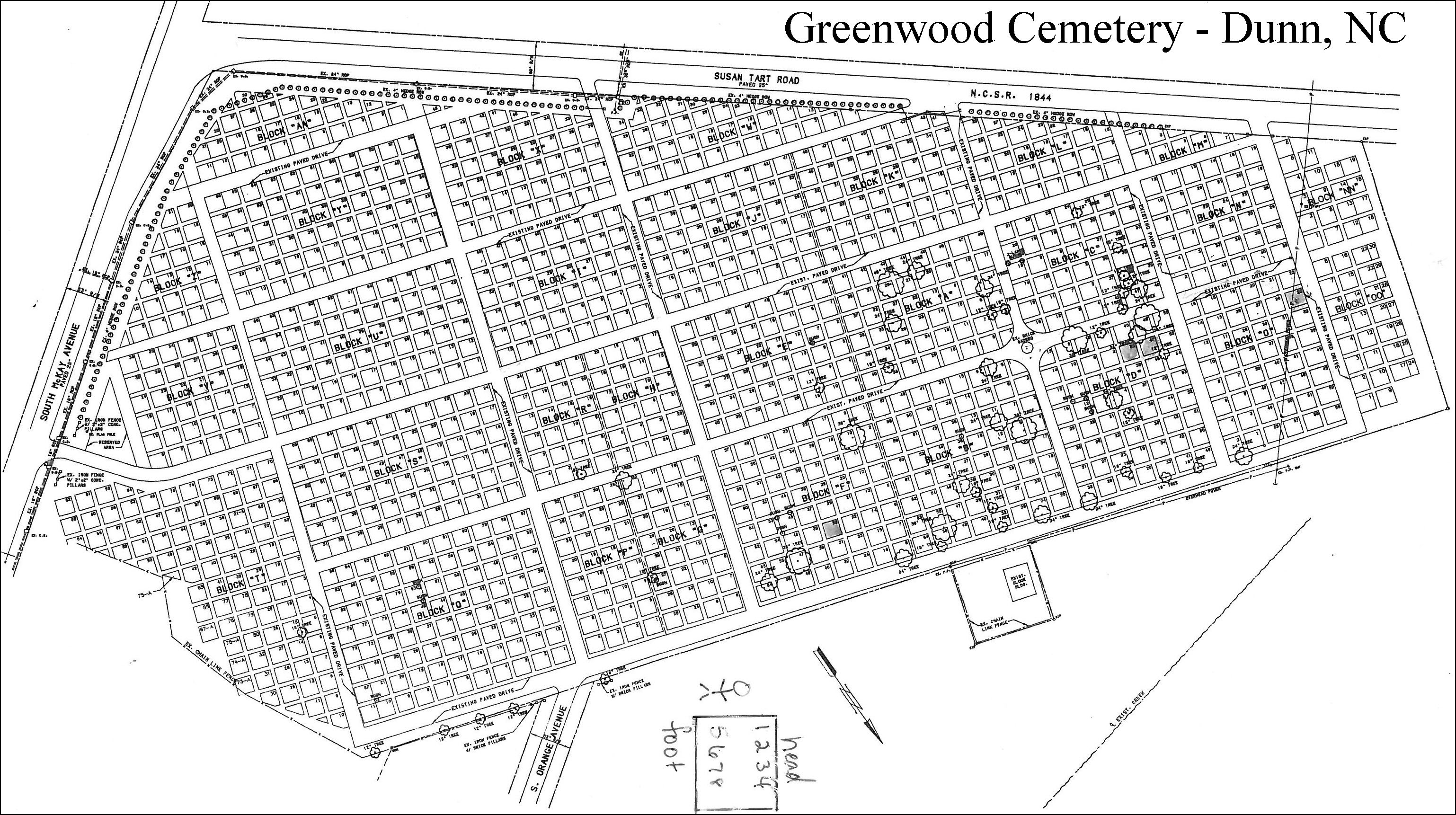 Greenwood Cemetery Dunn North Carolina Burial Records