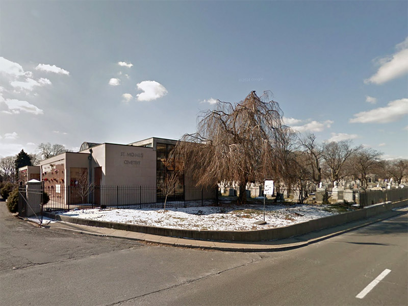 St  Michael's Cemetery, Astoria, Queens, NY - Burial Records