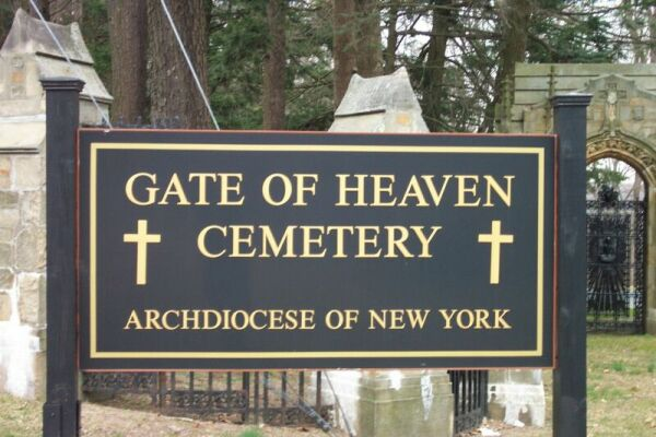 Valhalla ny Cemetery Gate Heaven Gate of Heaven Cemetery