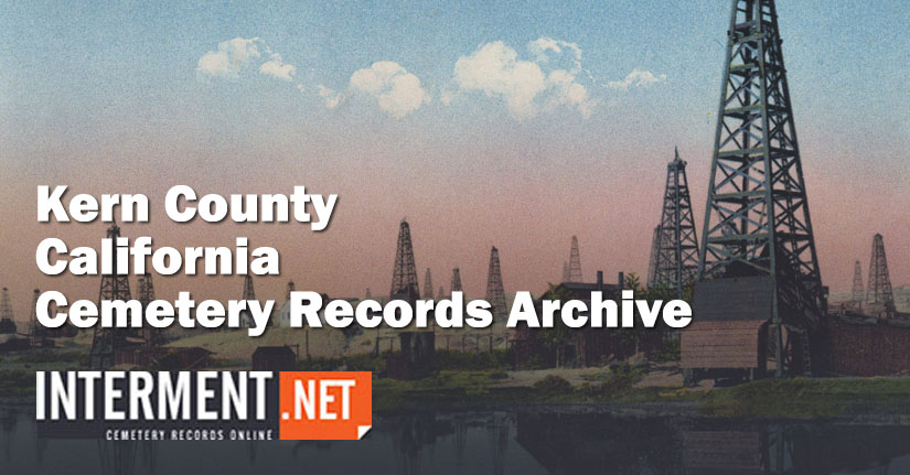 kern county california cemetery records